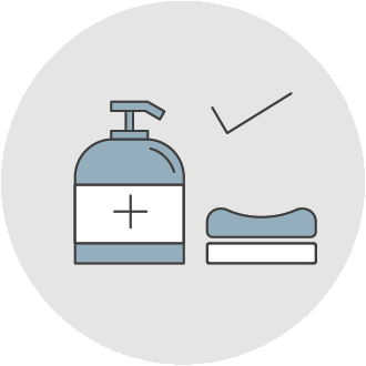 Use ONLY hand/body soap
